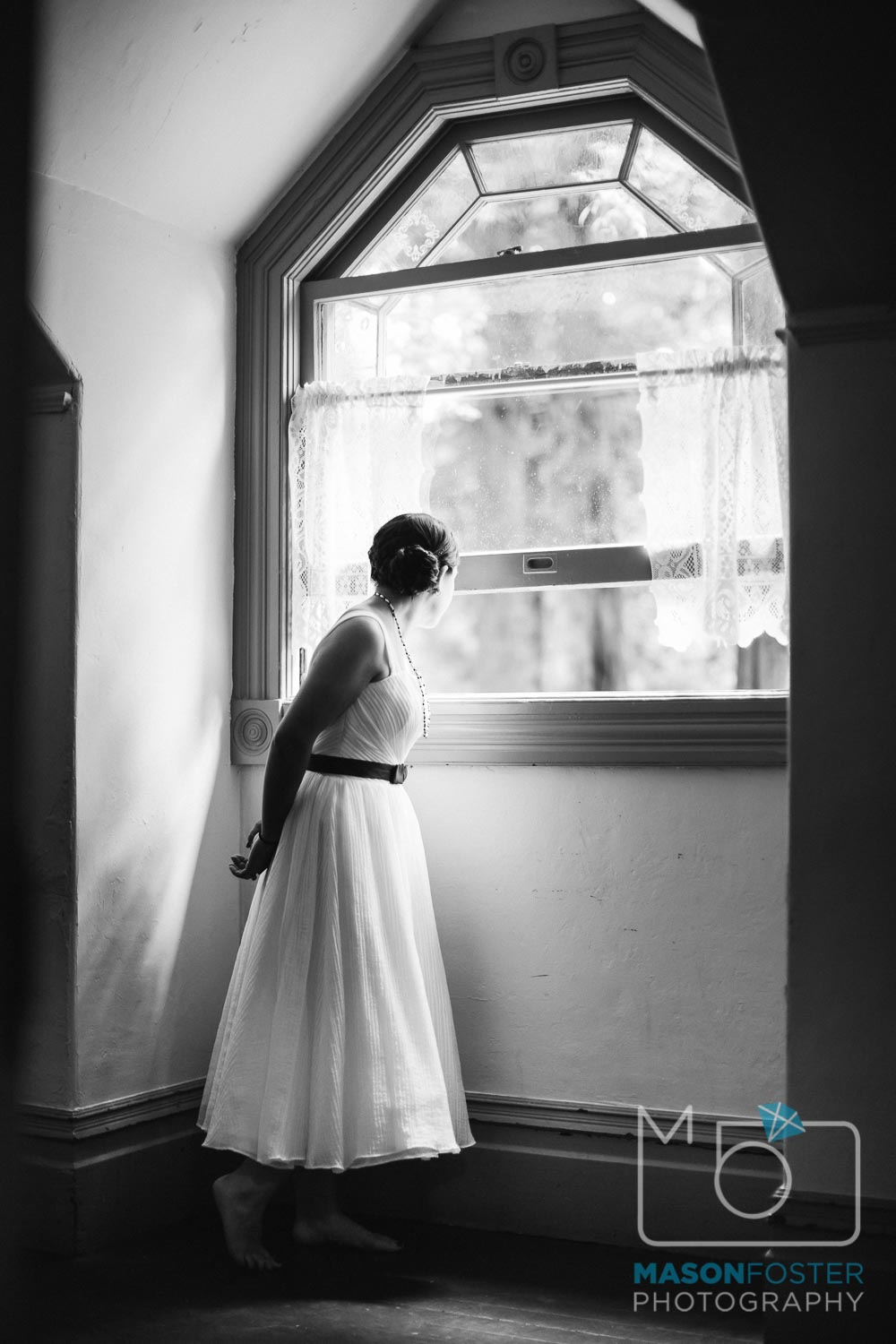 waiting for first look | san francisco wedding photography