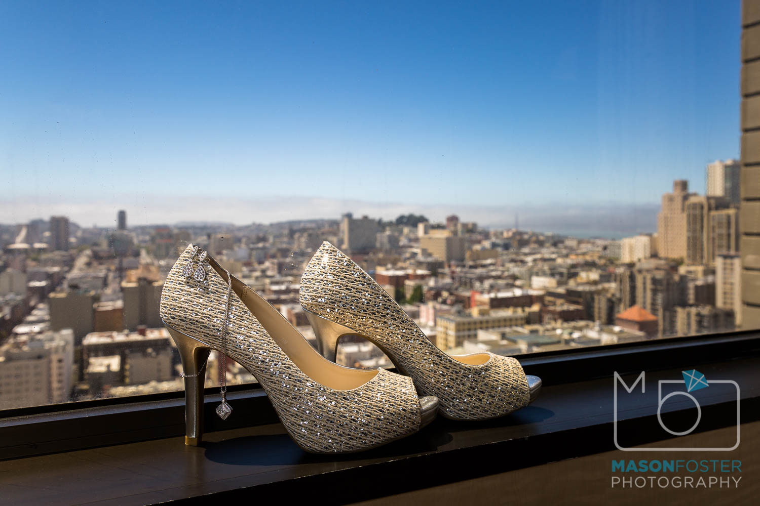 wedding shoes at the westin st. francis in san francisco