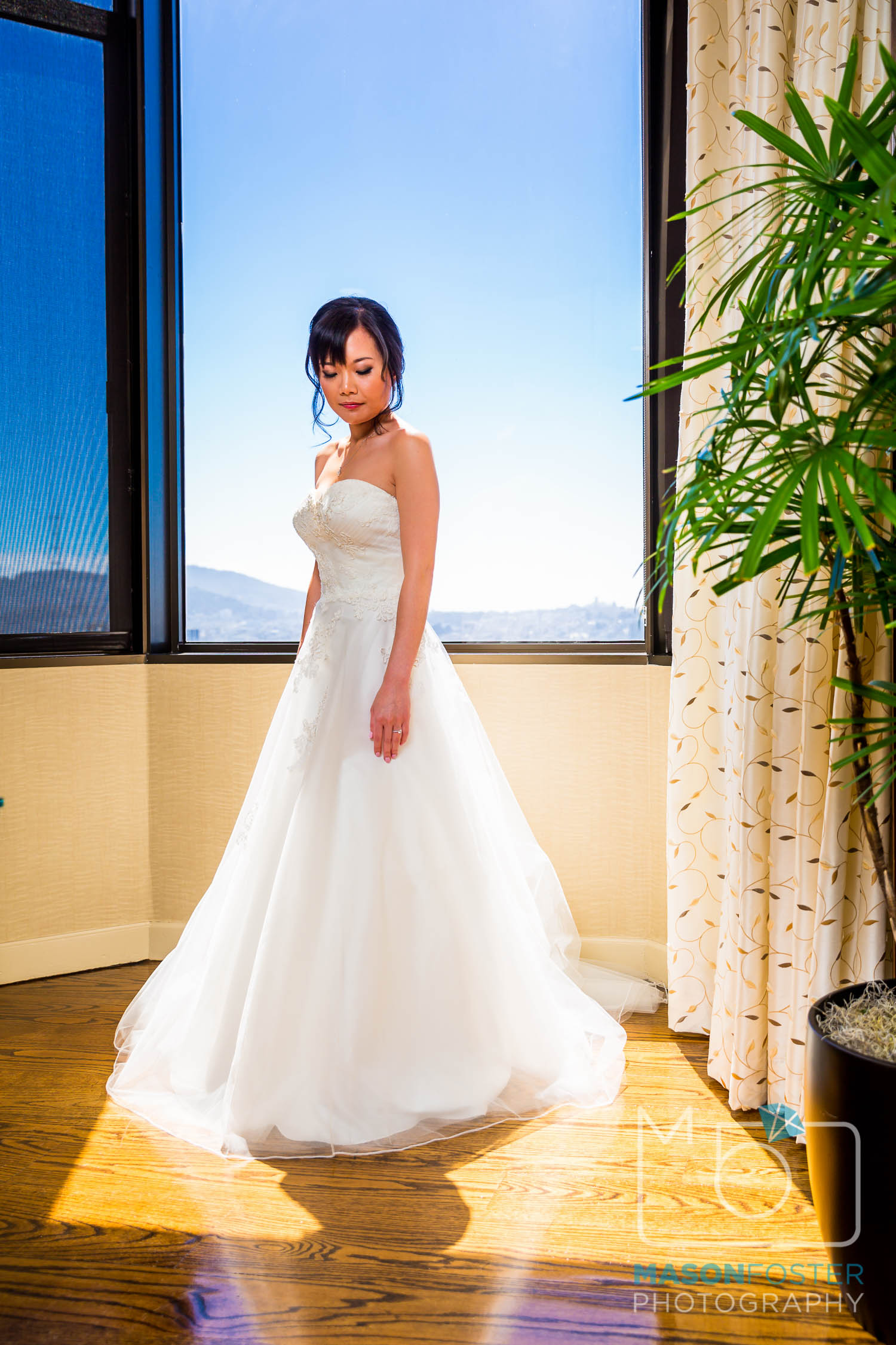bridal photography at the westin st. francis in san francisco