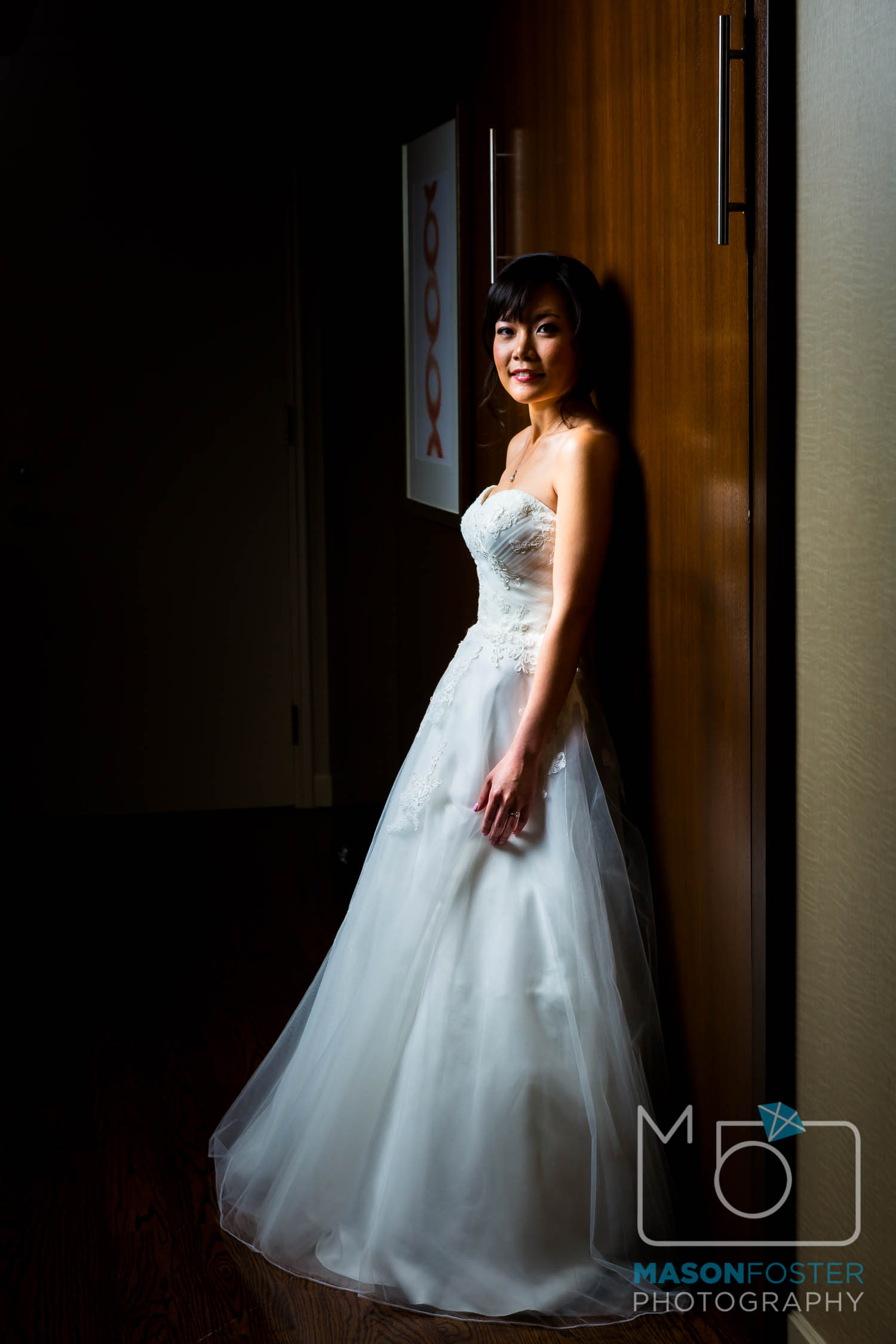 bridal portraits at the westin st. francis in san francisco