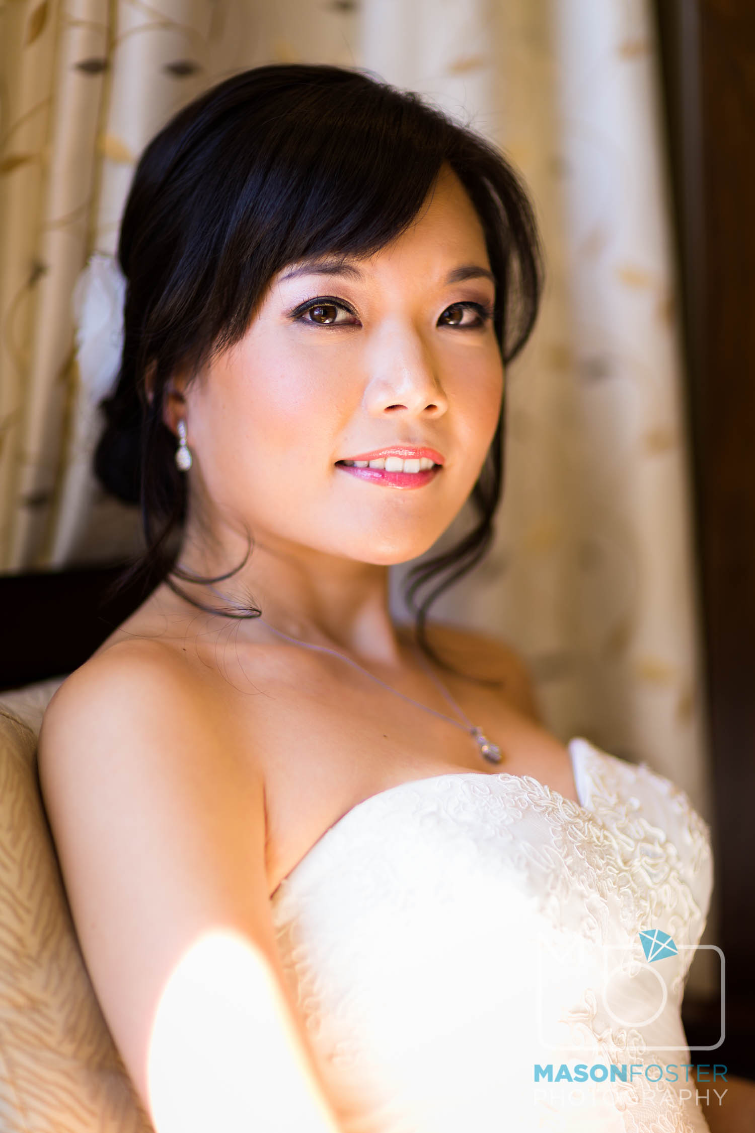 bridal portrait , wedding photography at the westin st. francis in san francisco