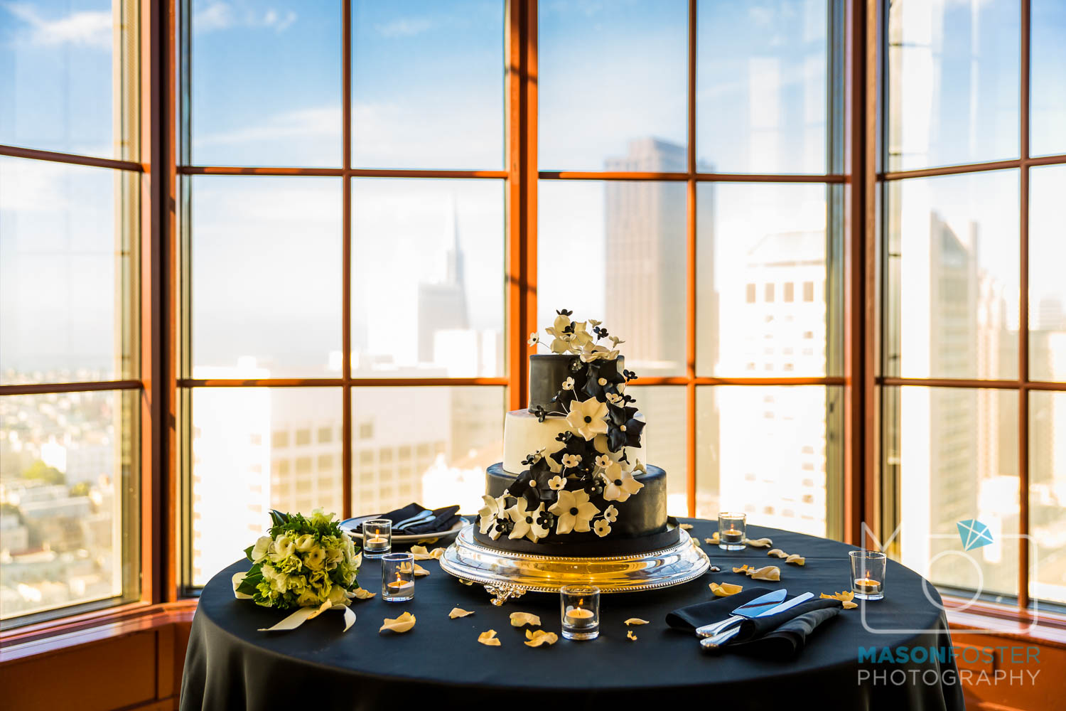 let them eat cake , wedding photography at the westin st. francis in san francisco
