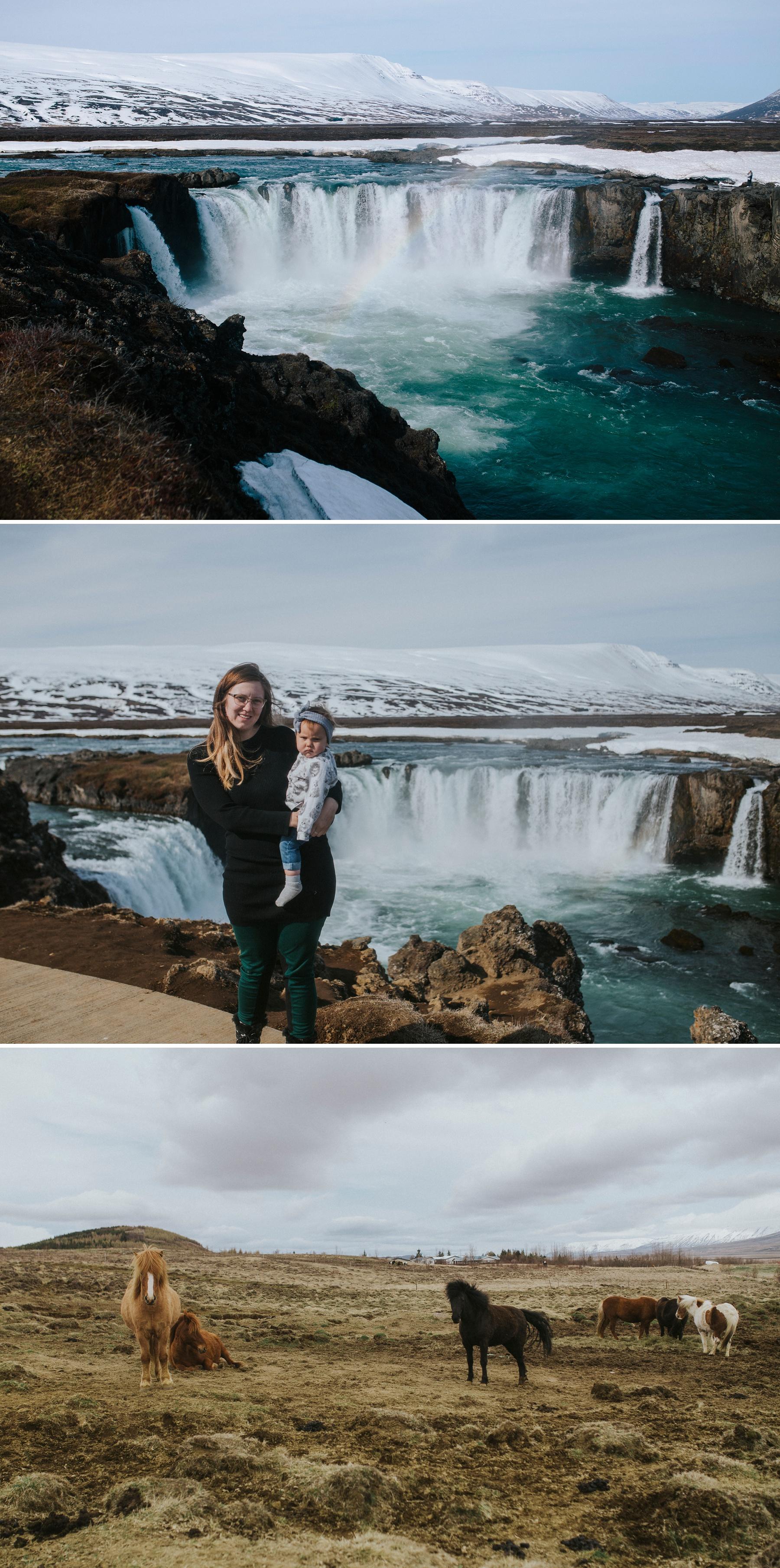 Godafoss Iceland Elopement Photographer