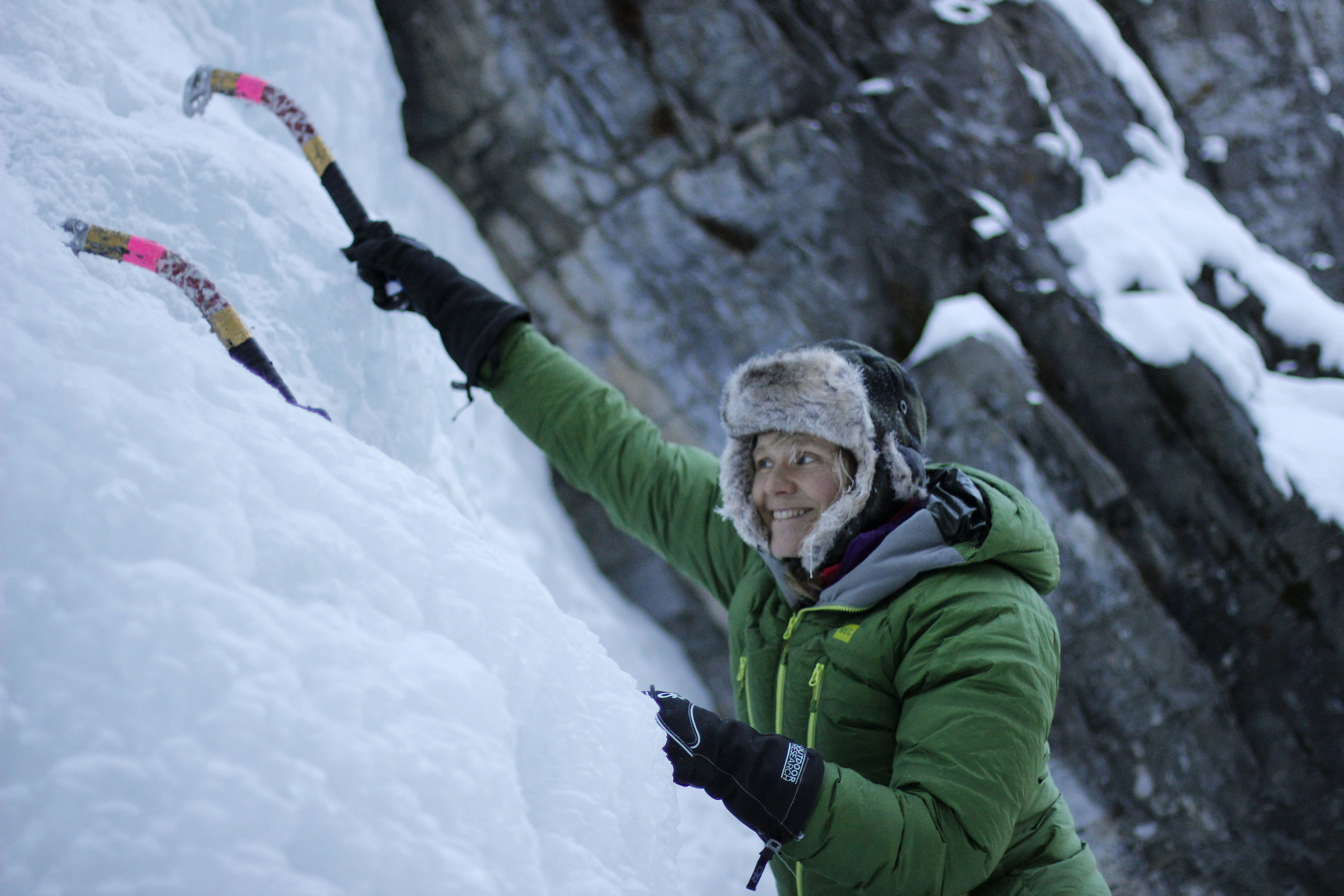 Ice Climber and Mountain Guide Jen Olson
