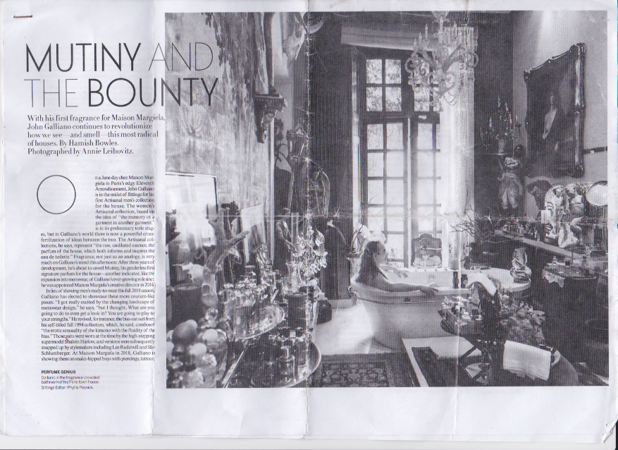 the mutiny and the bounty / by hamish bowles and photography by annie leibovitz / VOGUE