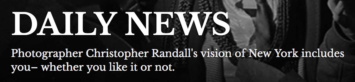 Annual Member: Chris Randall