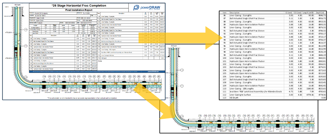 Export Product Details Table to Excel - Export the Product Details from a powerdraw Drawing to Excel. This can be used in conjunction with exporting the drawing separately as well.