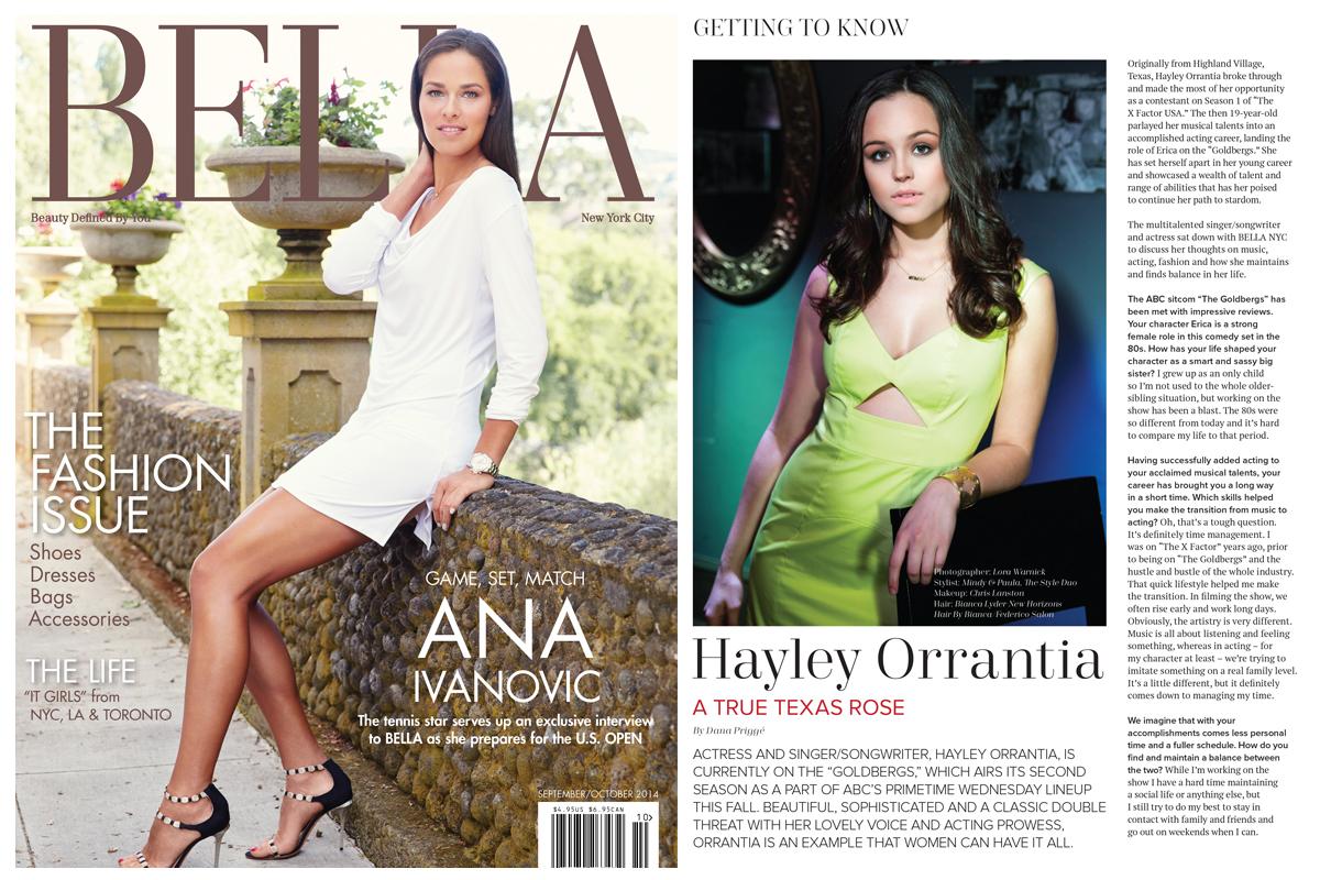 BELLA MAGAZINE - HAYLEY ORRANTIA