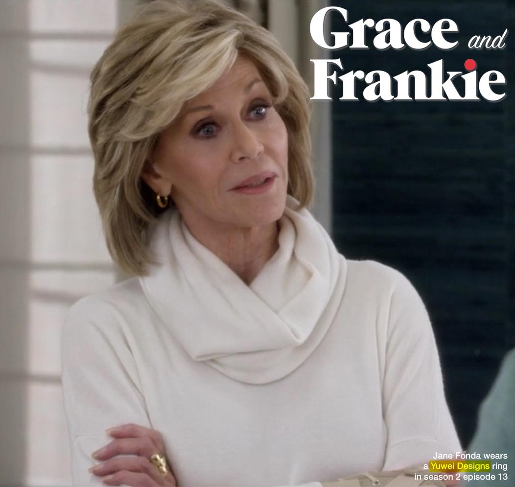 FRANKIE & GRACE - JANE FONDA