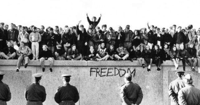 Fall of the Berlin Wall.November, 1989.
