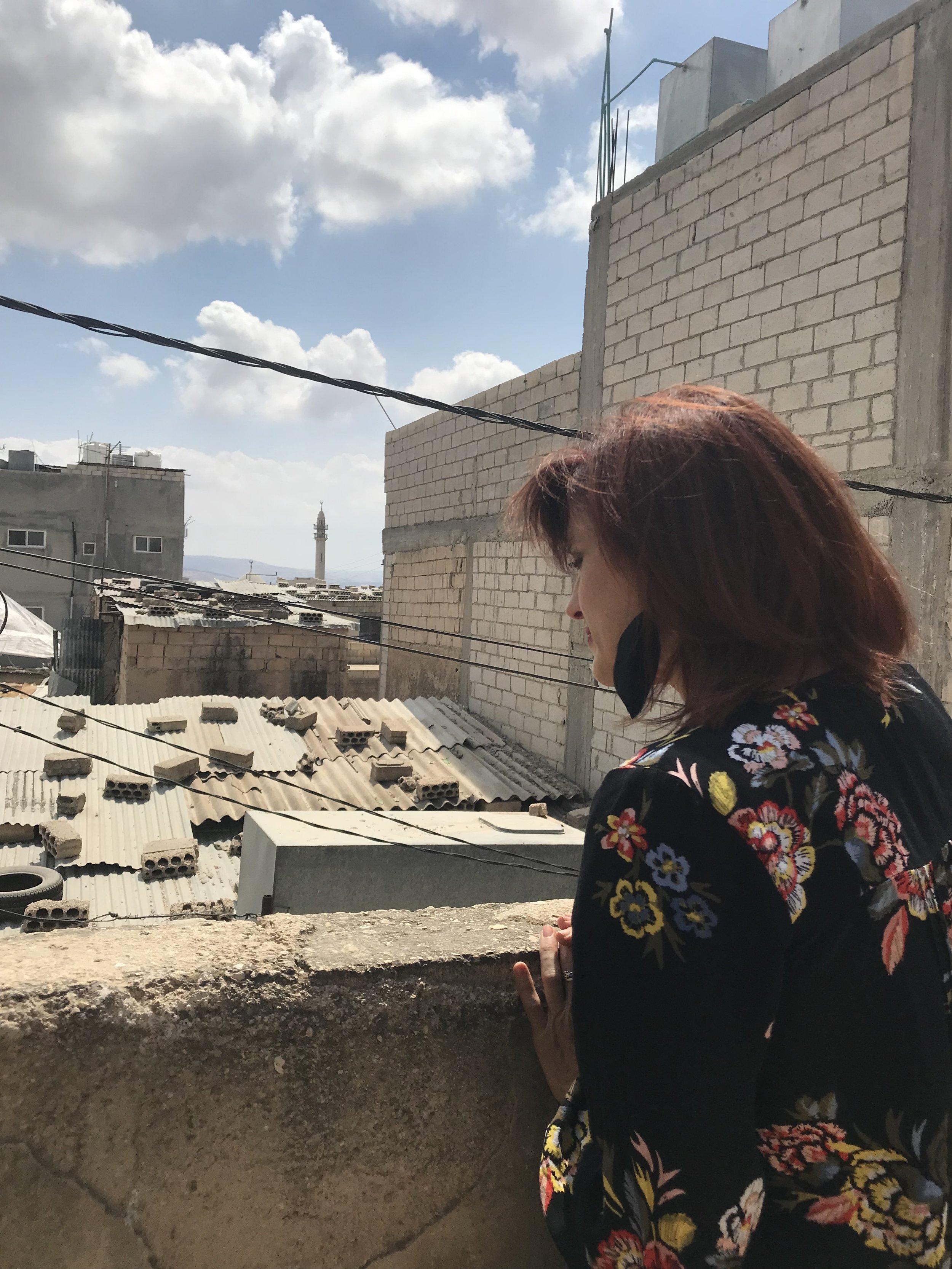 Gaza Palestinian refugee camp, Jerash, Jordan. September, 2018.