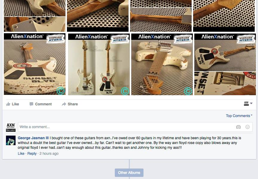 axn guitars review