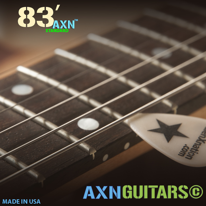The AXN™- 83'S - Precise Action Adjustments