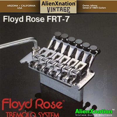 1984 Floyd Rose FRT-7 by Fernandes