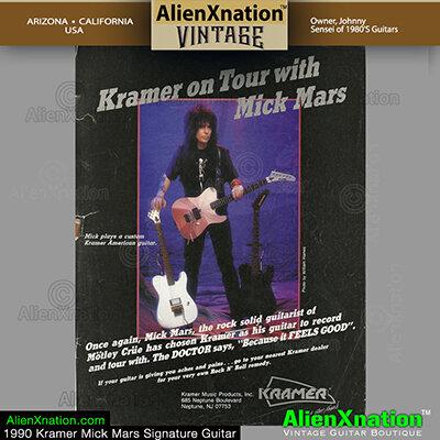 Kramer Mick Mars Telecaster