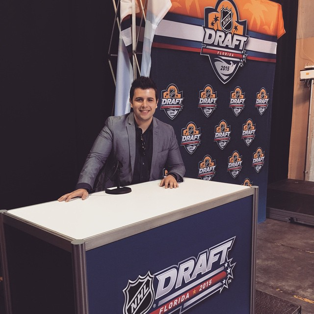 My first trip to the NHL Draft