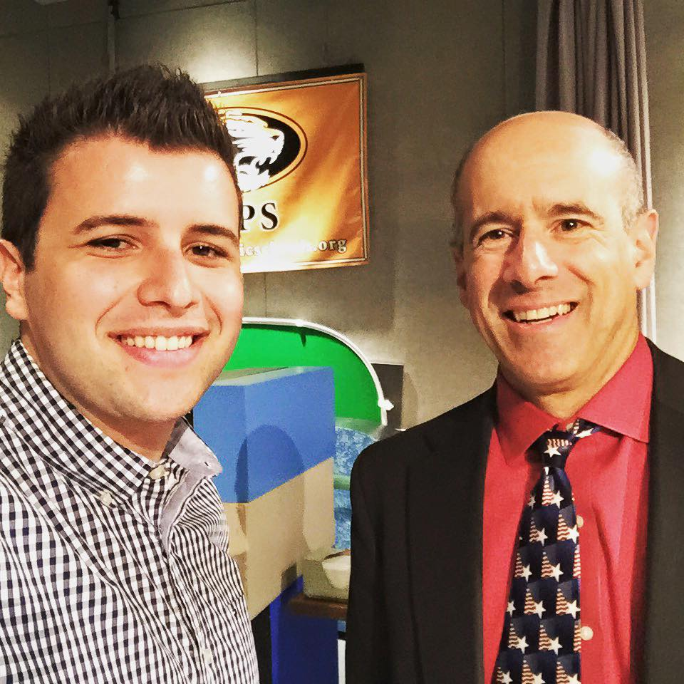 "After my interview with John Vorperian on his show ""Beyond the Game"""