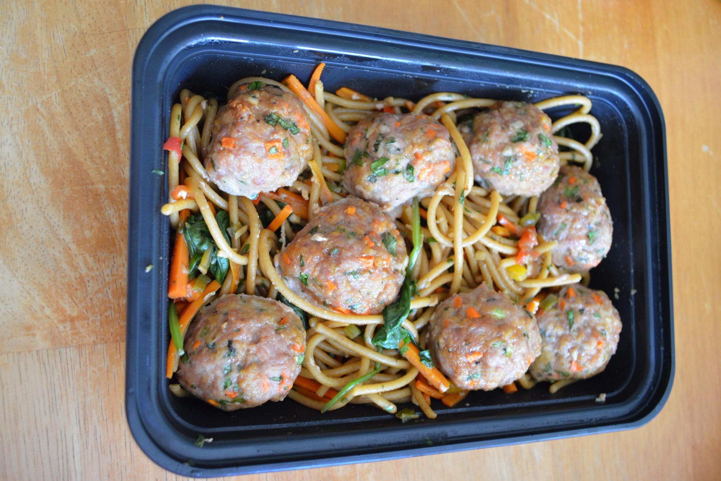 Asian Style Turkey Meatballs
