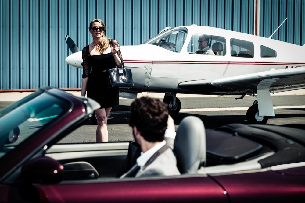 Porsche & Planes by Anthony Bianciella