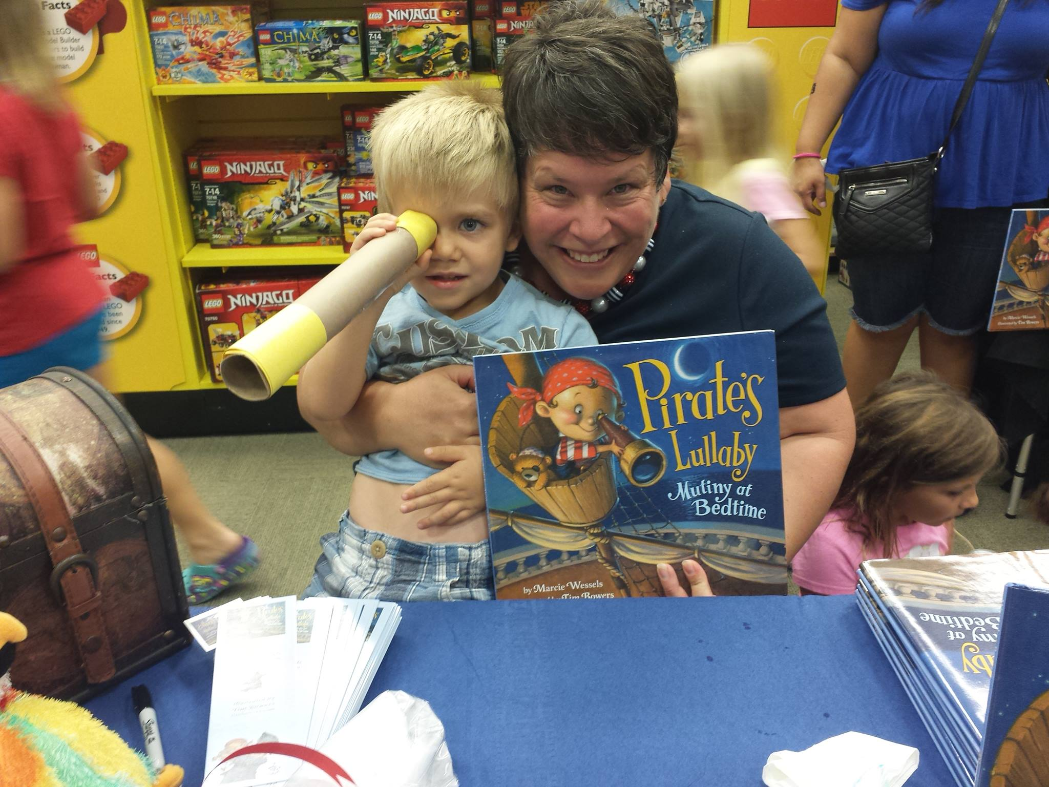 Alicia Lindbergs Son and I at Book Launch Party.jpg