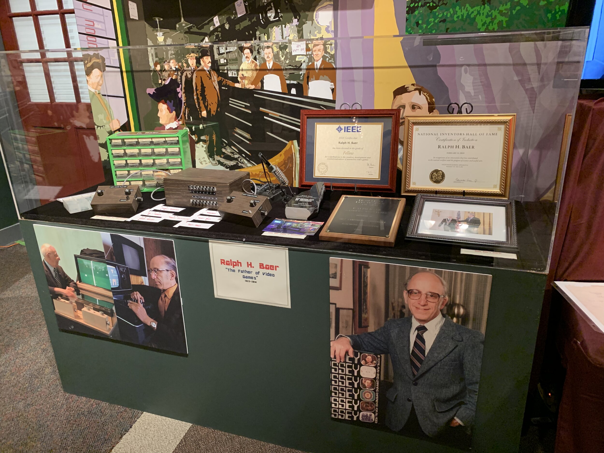 Ralph H. Baer Exhibit at The Millyard Museum