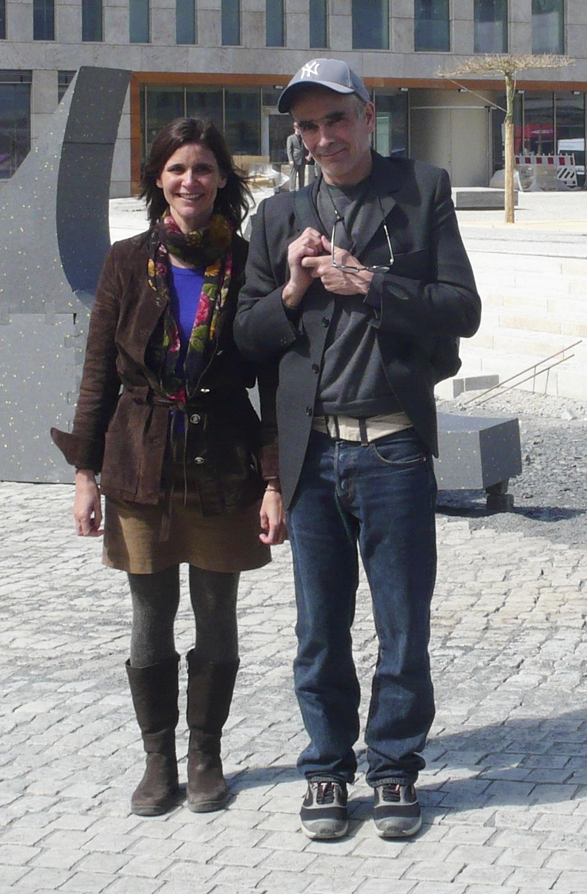 Dolores Zinny and Juan Maidagan