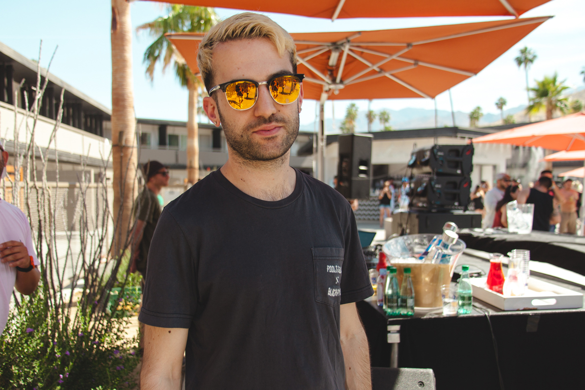 Headliner A-Trak at the HYPEBEAST Hotel private party.  Original story via  HYPEBEAST .