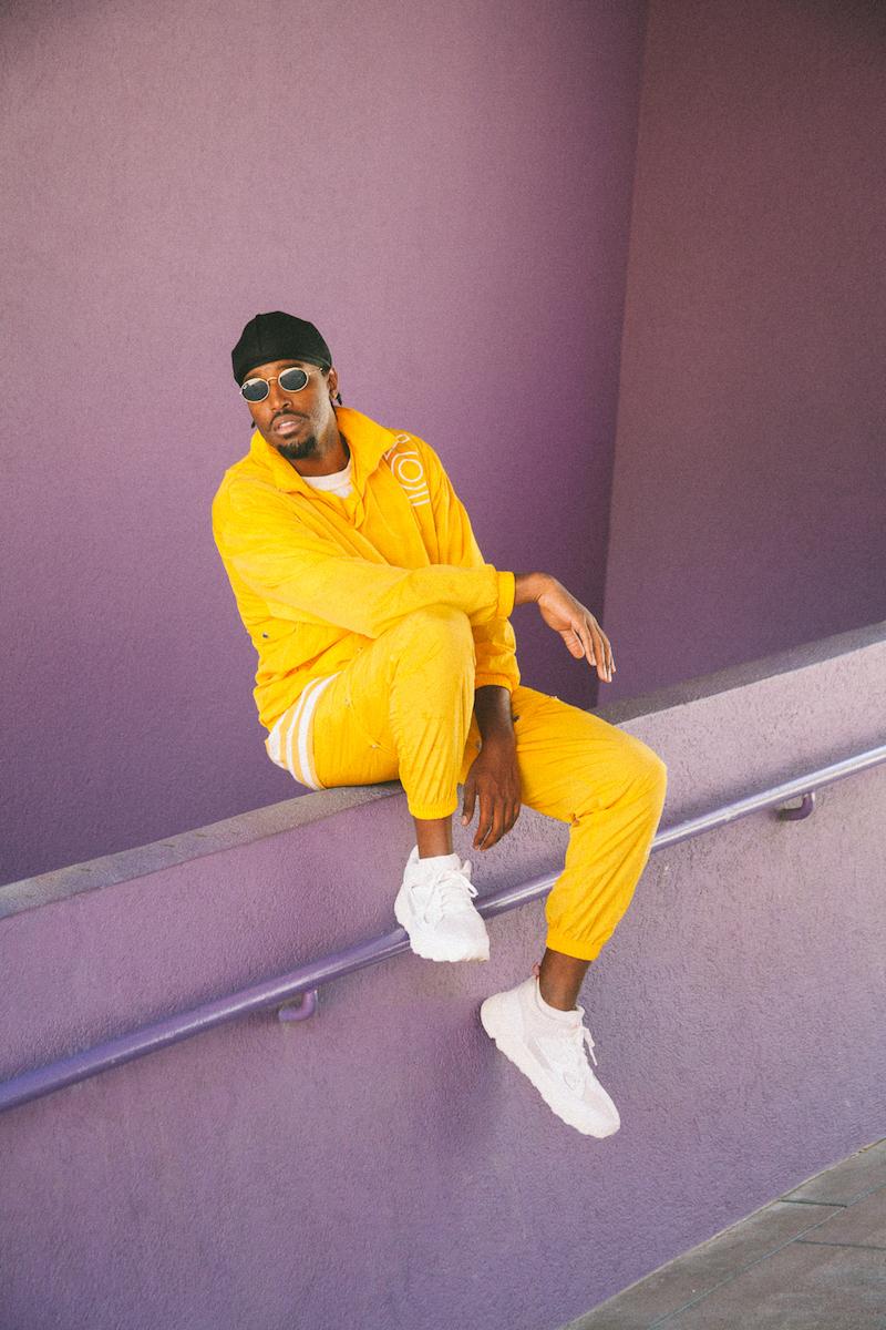 American R&B singer MarcLo