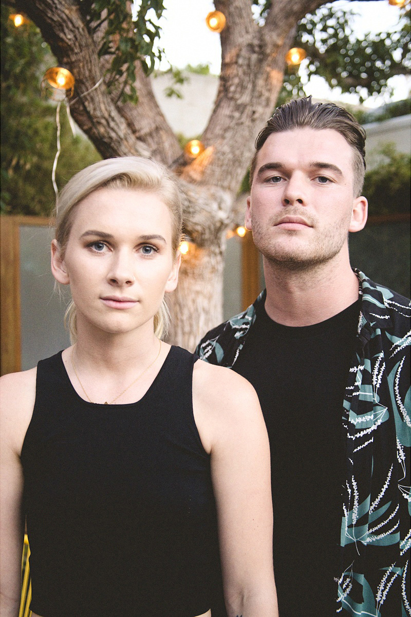 New Zealand music duo, Broods (Georgia Nott and Caleb Nott)