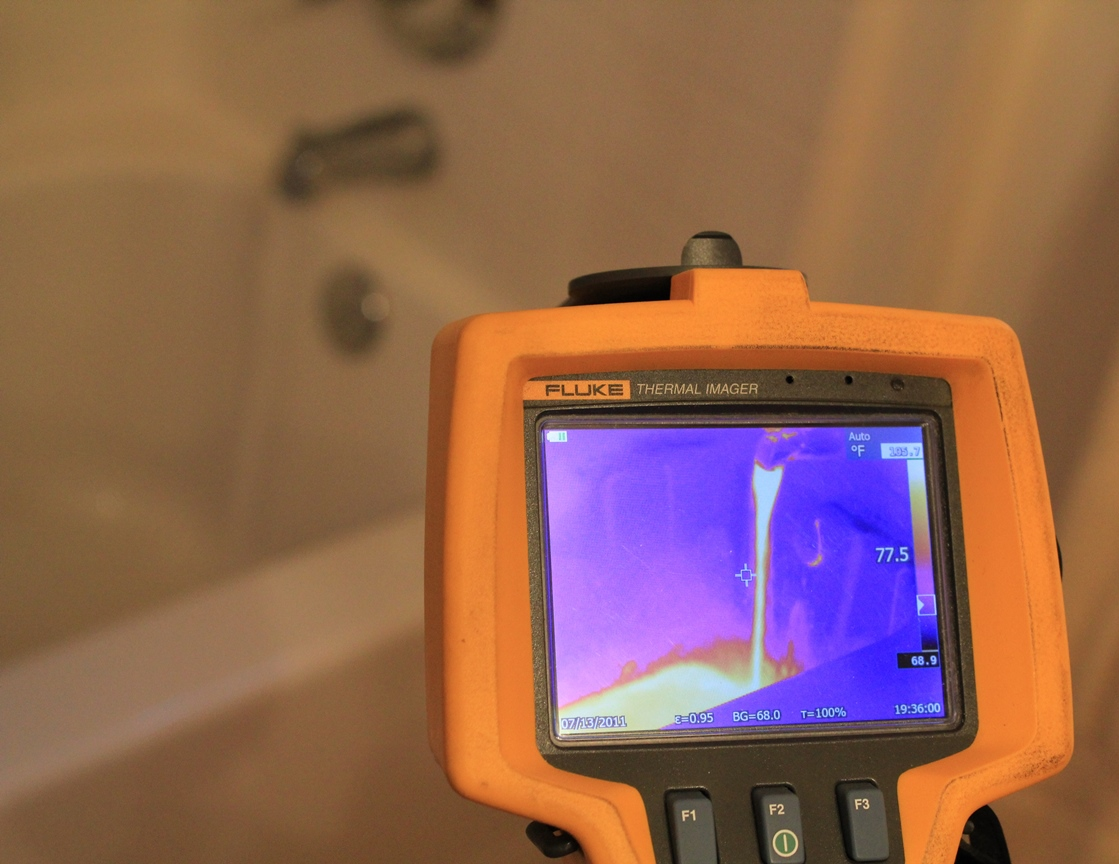 Our Infrared Camera will detect leaks and standing water in walls, under floors, etc.