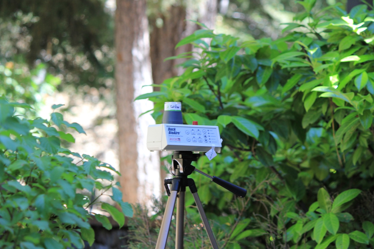 An air sample is taken outdoors to determine the amount of mold present in the outdoor environment around your home. This will identify any problems in your indoor air.
