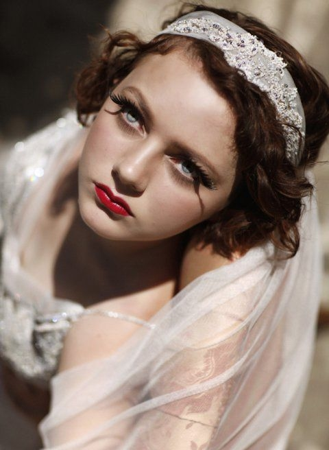 Our Gatsby inspired photoshoot. Dress design and headpiece by Deborah Selleck