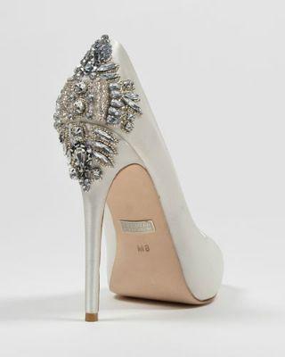 silver bridal shoes silver wedding shoes art deco.jpg