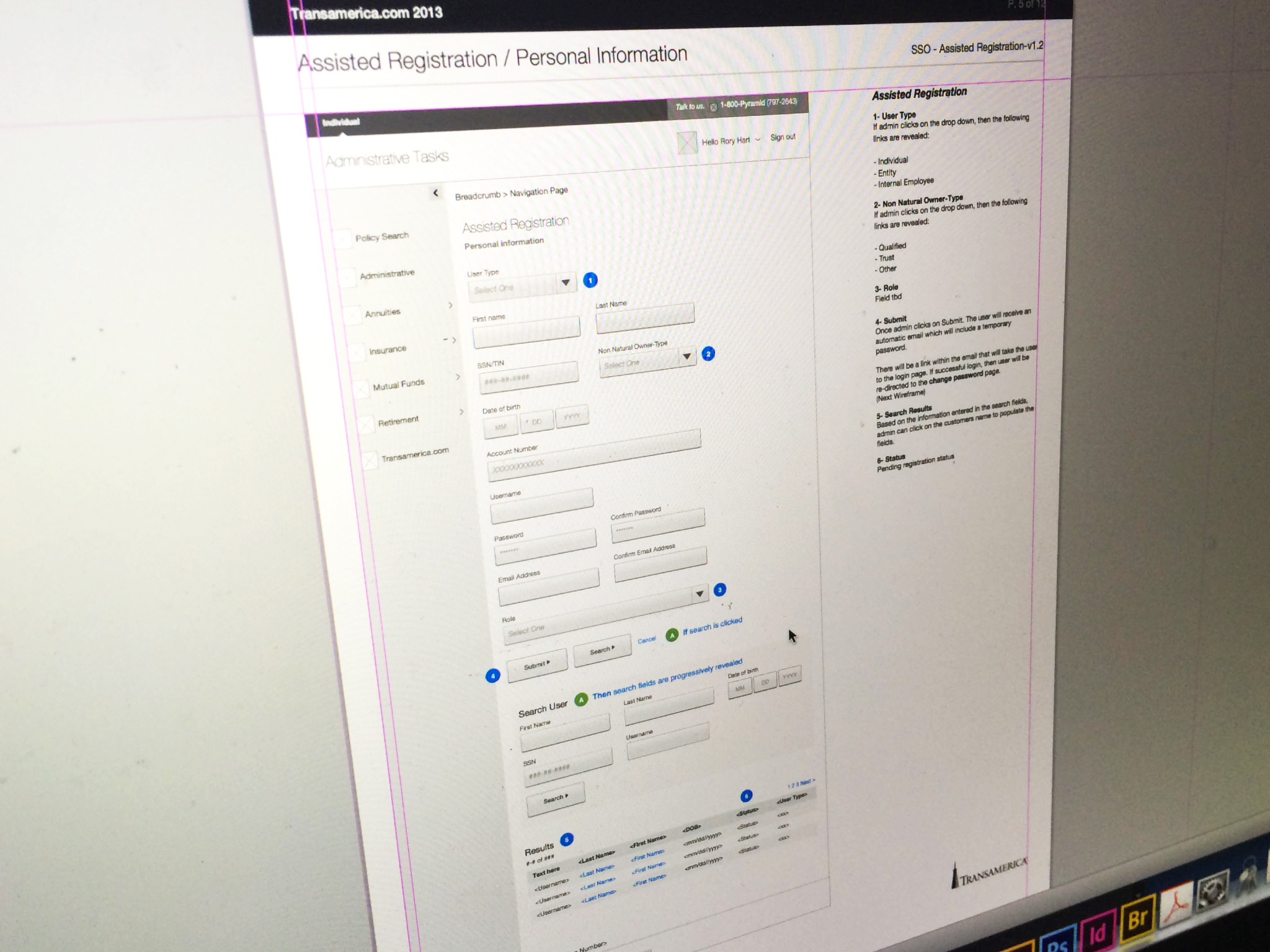 Ensure business requirements are accurately translated into functional specs using wireframes