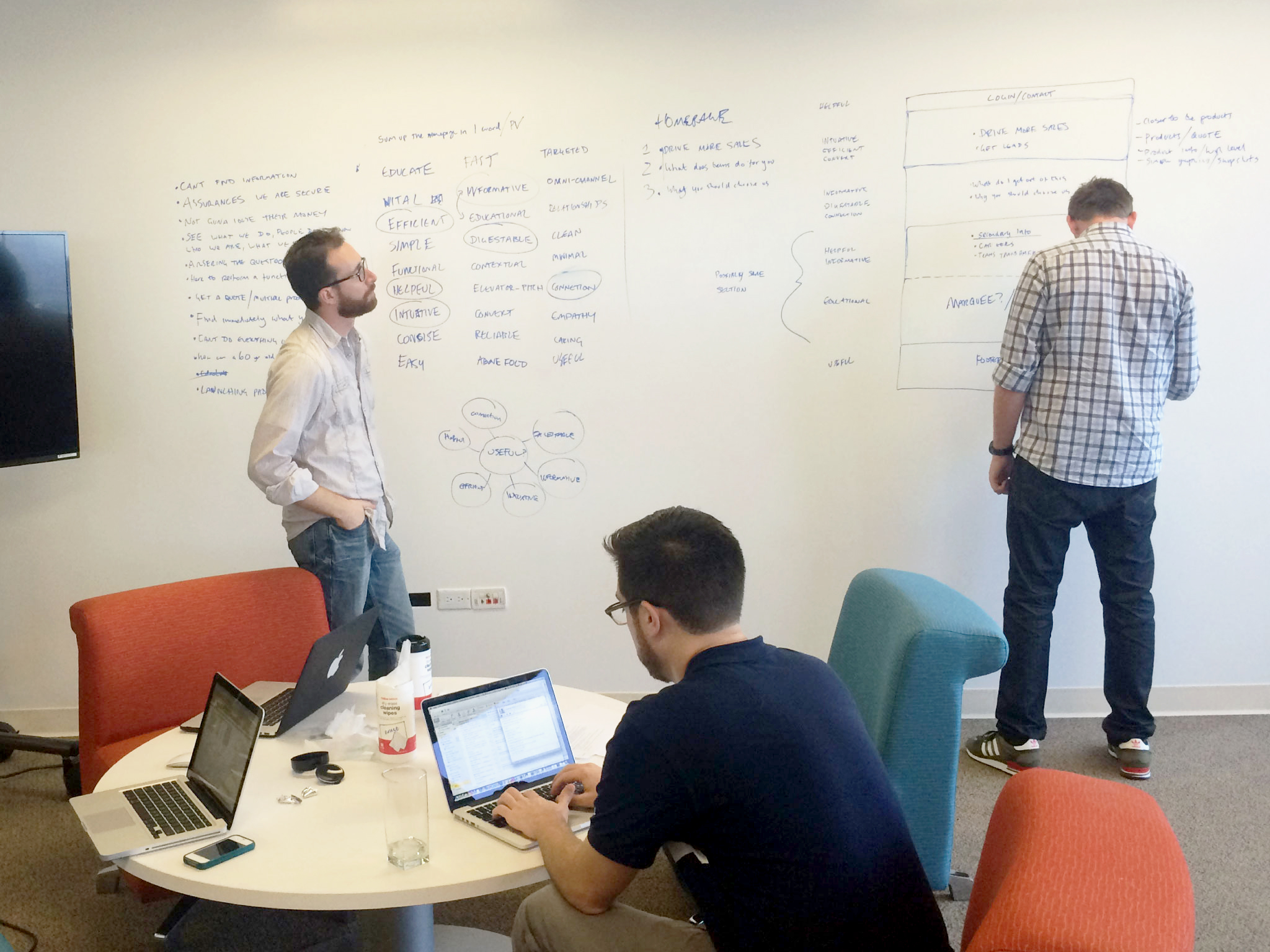 Working along side Content Strategy and Analytics Experts to map out  design models and solutions