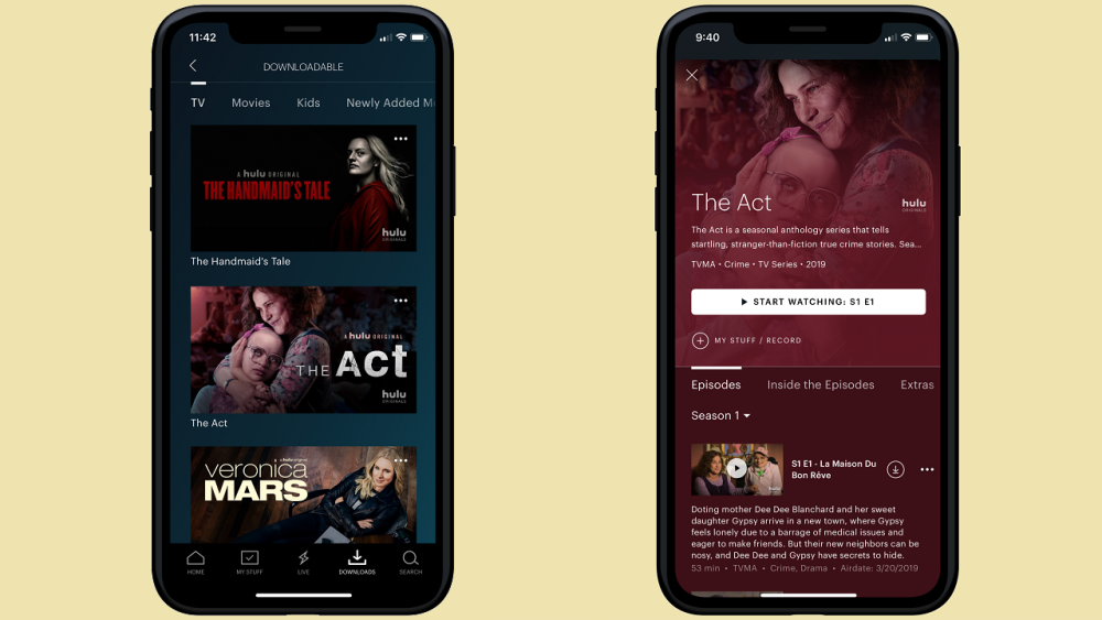 Hulu Finally Adds Downloads for Offline Mobile Viewing -