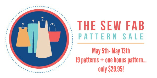 The Sew Fab Pattern Sale