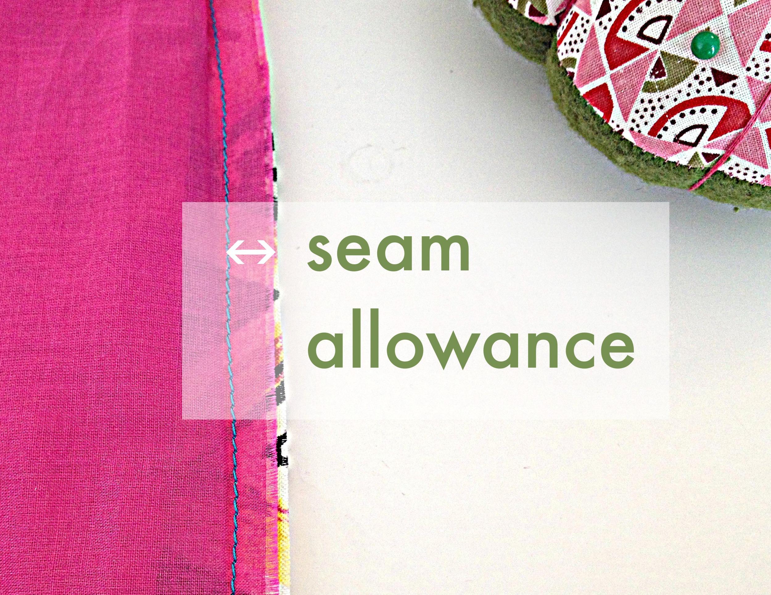What is a Seam Allowance?