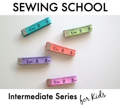 Sew You Studio | Sewing School: Intermediate Series for Kids