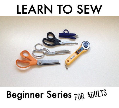 Sew You Studio | Learn to Sew: Beginner Series for Adults