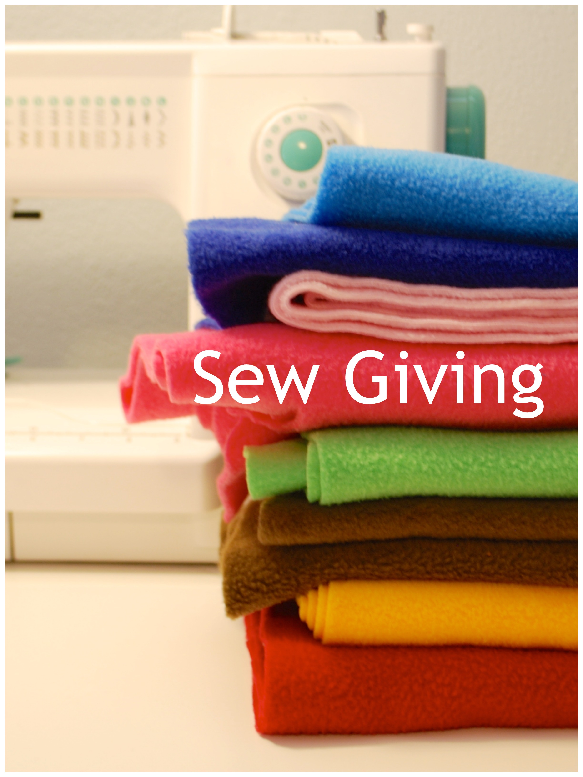 Sew You Studio | Sew Giving Event for August 2014