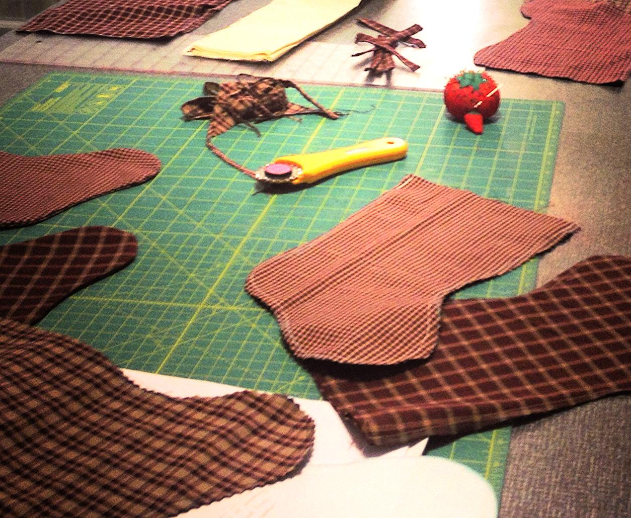 Sew You Studio | Sew Giving: stockings