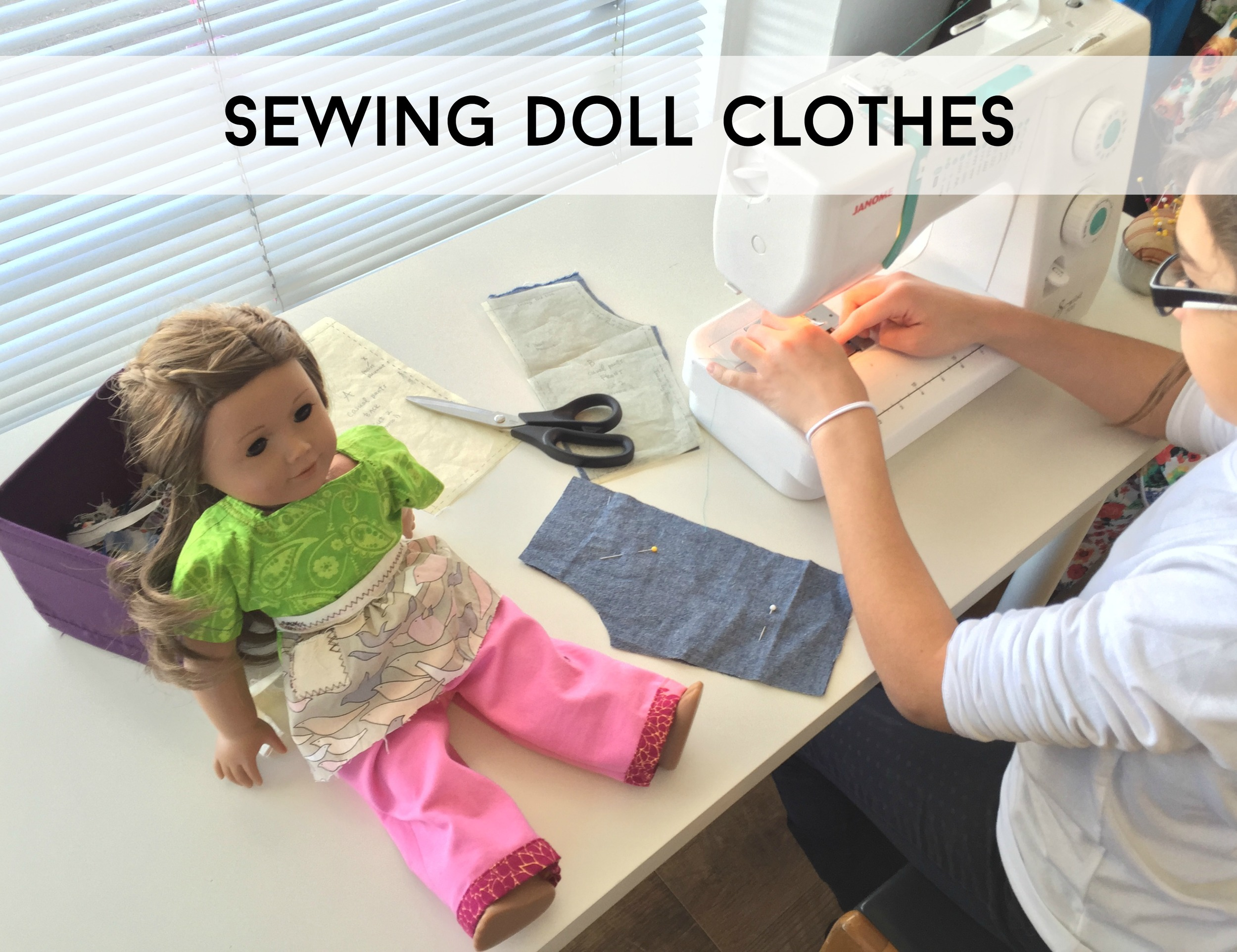Sew You Studio | Sewing Doll Clothes - PANTS/SKIRTS