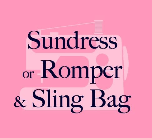 Sew You Studio | Sundress/Romper and Sling Bag