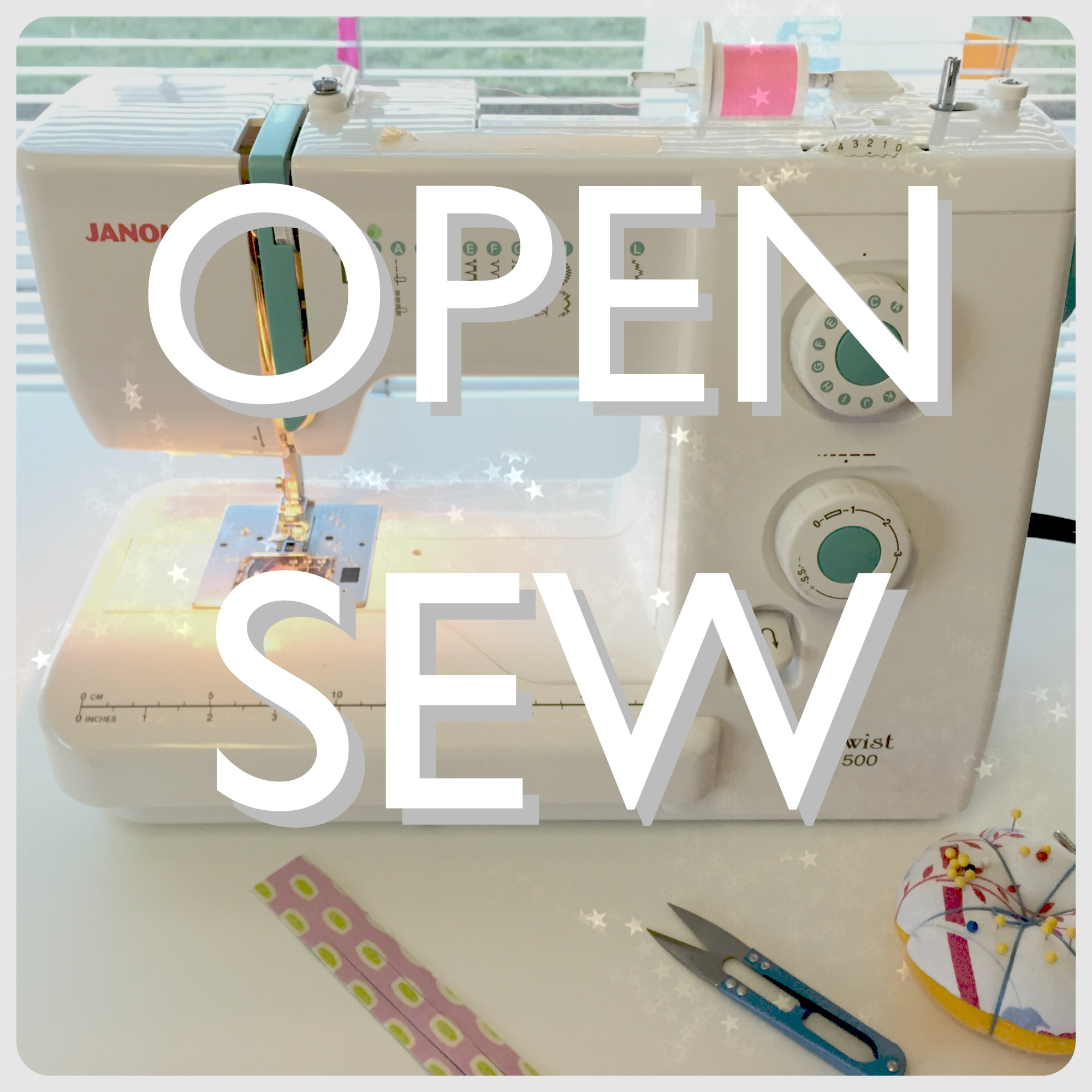 Open Sew for Adults | Sew You Studio