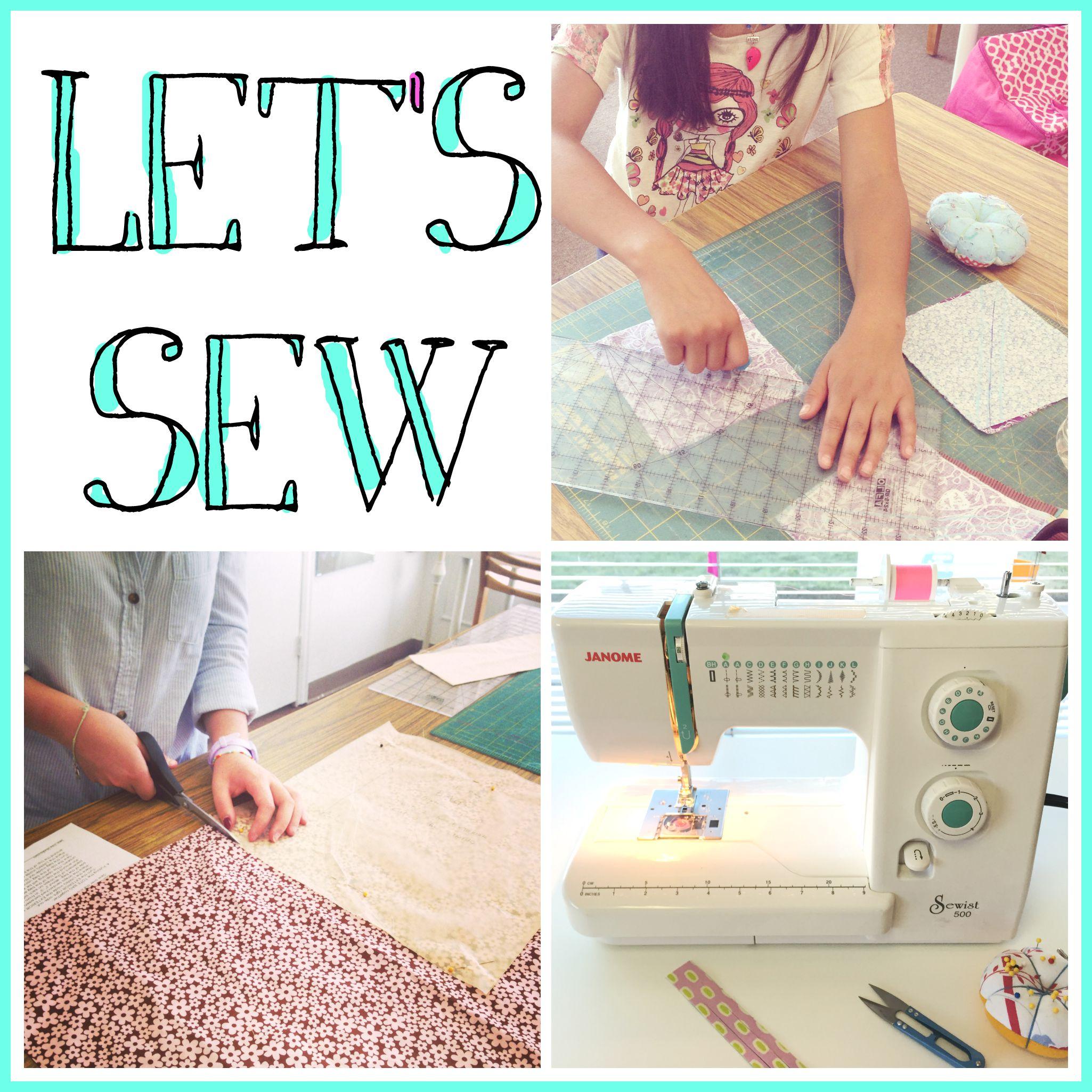 Let's Sew   Sew You Studio