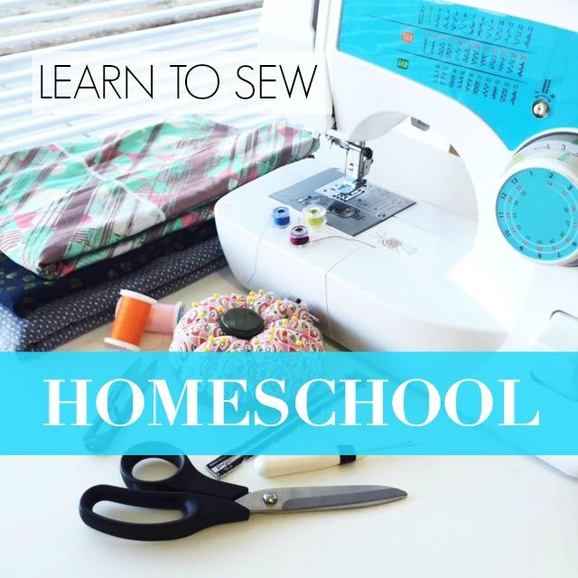 Learn to Sew: Homeschool   Sew You Studio.com