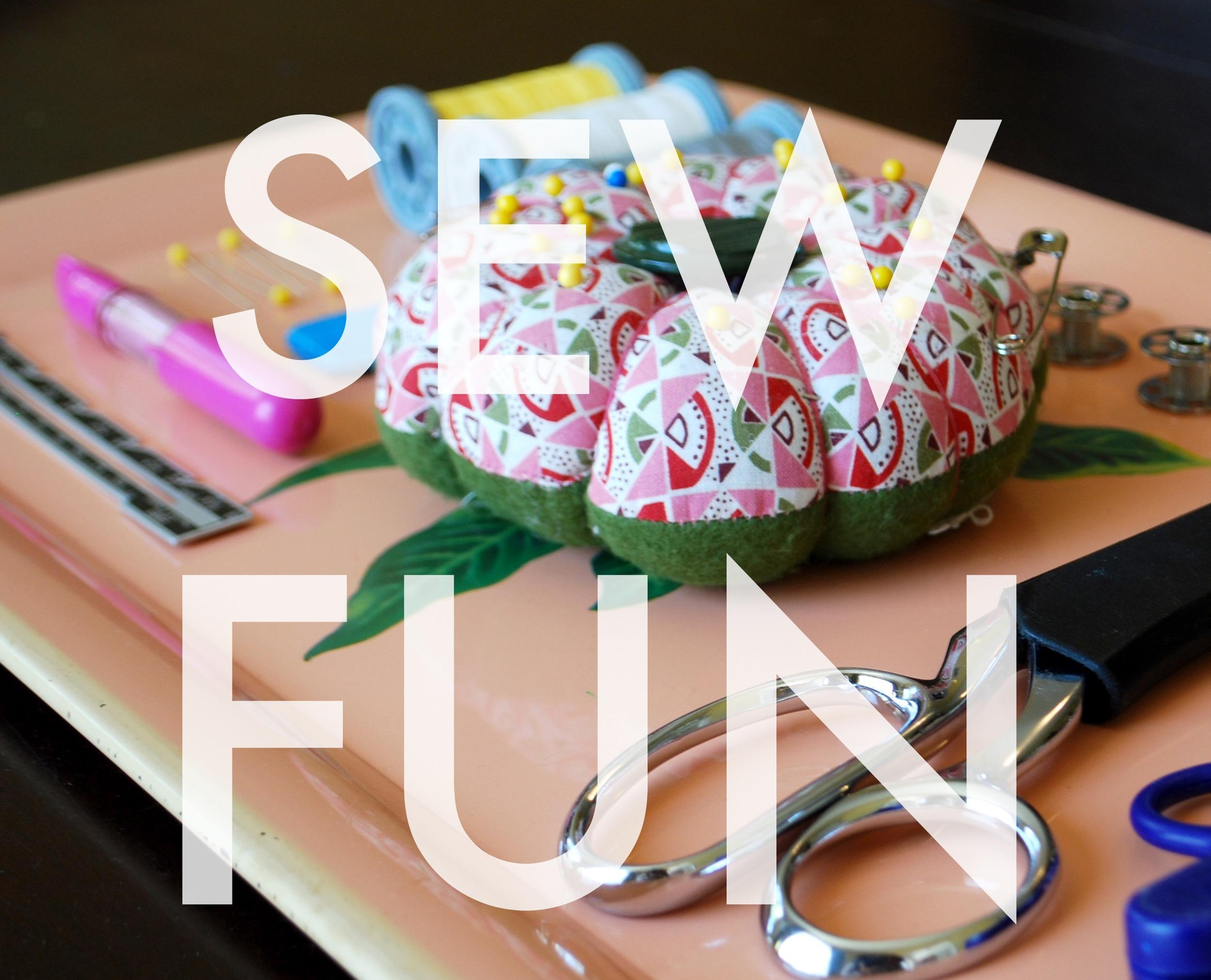 Sew Fun Workshop for Kids | Sew You Studio.com