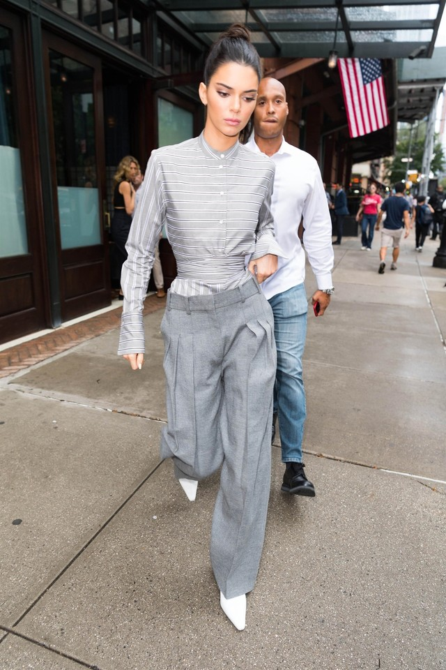 VOGUE FORCES OF FASHION - Kendall Jenner in Victoria BeckhamStyled by Marni Senofonte