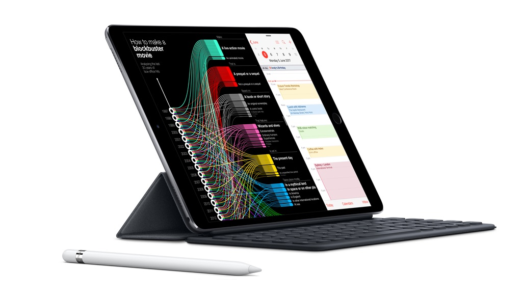 Immensely powerful, portable and capable, the 12.9-inch iPad Pro features a redesigned Retina display that is Apple's most advanced yet1, while the A10X Fusion chip outperforms most PC laptops. With Apple Pencil, Smart Keyboard2 and iOS, Apple's most advanced mobile operating system, the 12.9-inch iPad Pro is designed for the world we live in today.